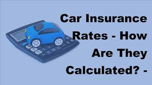 car insurance rates how are they calculated 2017 car insurance calculated