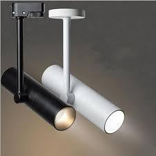 museum track lighting. 12W 15W Adjustable LED Spotlight Indoor Track Lighting Dimmable AC110V 220V Rail Lamps For Clothing Museum K