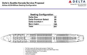 Delta Outlines A330 900 Seating Plans News Flight Global
