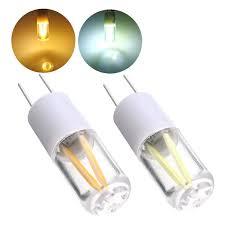g4 1 5w 2w white warm white led light bulb chandelier glass sapphire lamp