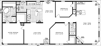 manufactured home floor plan the t n r model tnr 46815w 3 bedrooms