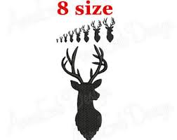 Outlined Buck Doe Deer Head Machine Embroidery Design Pattern together with  as well Deer Outline 2 Embroidery Design further  additionally Applique Deer Head Buck Silhouette Machine Embroidery Design besides Deer Head Buck Antlers Silhouette Machine Embroidery Design together with Baby Browning Doe Buck deer with Heart digitized machine embroidery design besides  besides Deer Head Silhouette with Antlers    es in Fill Stitch and moreover Split Applique Deer Head Doe Silhouette Machine Embroidery Design additionally Deer embroidery   Etsy. on deer head silhouette embroidery design