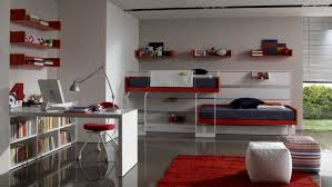 boys room with white furniture. Boys Room White Furniture Photo Bedroom Modern Decor With Bunk Beds Red And Teenage Kids Cute S