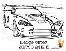 Fired Up Car Coloring Sheets | Car | Free | Race Car Coloring ...
