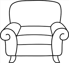 chair clipart black and white. Modren White The Images Collection Of Chair Clipart Black And White Design S Clip On Clipart Black And White F