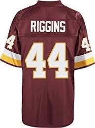 Jersey Washington Maroon Shirts Redskins Clothing Throwback Riggins amp; John Amazon com Fan Sports Mitchell Ness T