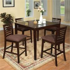 Dining Table In Kitchen Dark Brown Wood Kitchen Dining Tables Kitchen Dining Room