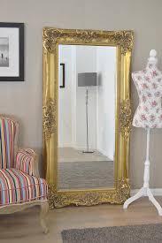 shabby chic bevelled mirror