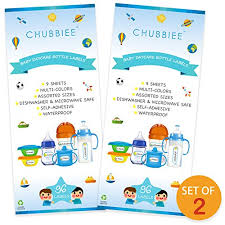 Baby Bottle Labels Waterproof Durable Write On Kids Name Labels For Daycare School Camp Pack Of