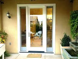 single door with sidelights french doors with sidelights home depot patio single door that open