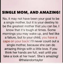 Single Mom Quotes Delectable 48 Unique Single Parent Quotes Images Inspirational Quotes Chainews