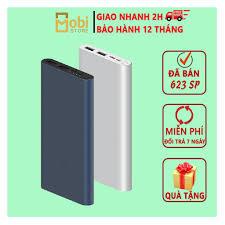 Sạc Dự Phòng Xiaomi MiGen 3FREESHIP Dung Lượng 10000mAh Sạc Nhanh - 2 Cổng  USB cục sạc dự phòng xiaomi dung lượng 10 giá cạnh tranh