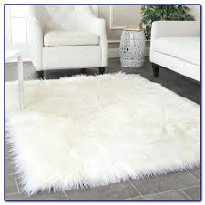 flokati sheepskin rug amazing off white faux fur area accents intended for superior