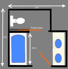 Visual Guide To  Bathroom Floor Plans Sinks - Master bathroom layouts