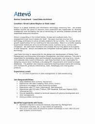 Sample Resume Of Senior Architect New Enterprise Data Architect