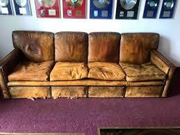 antique leather sofa restoration the