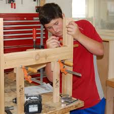 Weekend woodworking for teens in ma