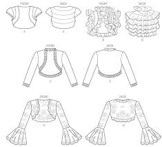 Bolero Jacket Pattern Custom Vogue Patterns 48 Misses' Jacket