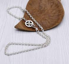 epinki 925 sterling silver women men necklace round chain eagle pendant buddhism b07b8kfcdg