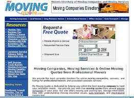 Moving Company Quotes Real Estate and Resort News Website Review of My Moving Quote 82