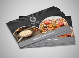 Awesome Pizza Restaurant Business Card Template 44510400692
