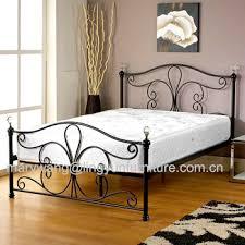 New White Metal Bedframe Bed Frame Super King Size 180x200 Cm Incl ...