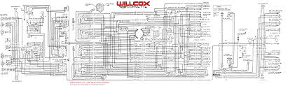 1968 corvette wiring diagram tracer schematic willcox corvette just keep a few things in mind when following wires on this schematic wires typically do not change colors in mid stream