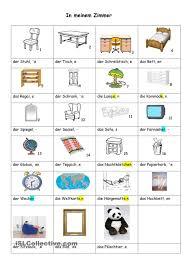 In Meinem Zimmer Német Deutsch Lernen Deutsch Und Deutsch Kinder