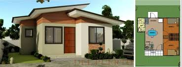 House Designs Bungalow Type Philippines With Floor Plans    Rizal Exterior And Floor Plan