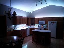 Led Kitchen Lighting Ceiling Lowes Blue Colored Light White Strip Under Led