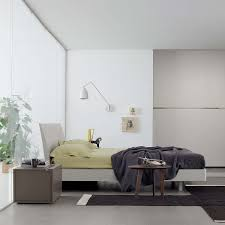 Wooden bed with Storage box Swing by Santarossa modern tendency comfortable  bed with or without storage