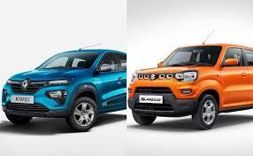 Renault Kwid Vs Maruti Suzuki S Presso Variant Comparison