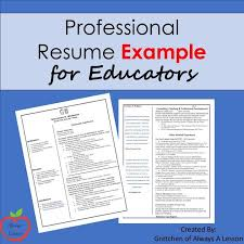Create A Easy To Read Resume By Organizing Your Professional