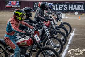 ama vintage flat track racing in ashland oh jon the road again
