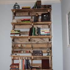 rustic pallet furniture. Diy: Pallet Bookshelf Plans Or Instructions Wooden Furniture Rustic