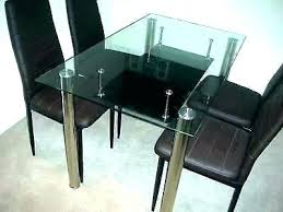glass dining table set 6 chairs glass dining table sets 6 chair set glass top dining