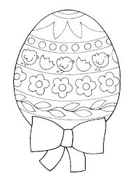 Easter Egg Drawing Template At Paintingvalley Com Explore