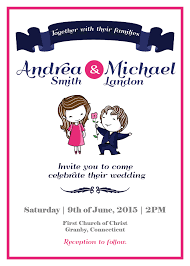 Free Printable Wedding Invitation Template With An Adorable