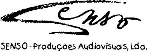 Resultado de imagem para senso produções audiovisuais lda logotipo