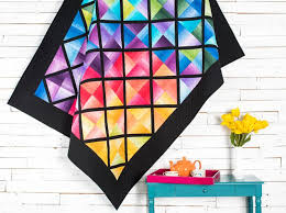 Choosing a Color Palette for Quilting Projects & Colorblock Quilt Kit Adamdwight.com