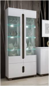 inspiration display cabinet with glass door incredible lorenz high gloss white 2 p 9 rxl intended for indium shelf and drawer side singapore top malaysium