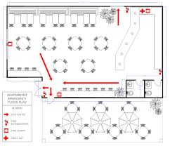 restaurant floor plan how to create a restaurant floor plan restaurant evacuation floor plan