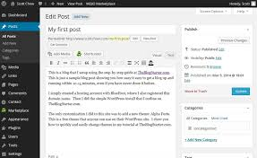 How To Add Links To Your Wordpress Blog The Blog Starter