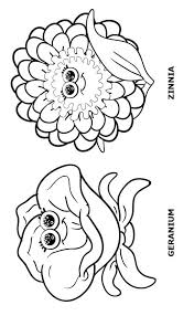 Small Picture Girl Scout Flower Friends Coloring Pages Girl Scouts Pinterest