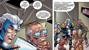 one of stan lee s weirder projects wasn t just a ic he was writing it was a ic he starred in stan lee s mighty 7 published by believe it or not