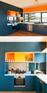 Blue Cabinets Kitchen Kitchen Color Inspiration 12 Shades Of Blue Cabinets Contemporist