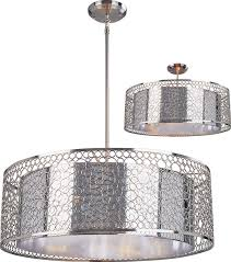 modern drum pendant lighting. zlite 18526 saatchi modern chrome 26u0026nbsp wide drum hanging light fixture loading zoom pendant lighting e