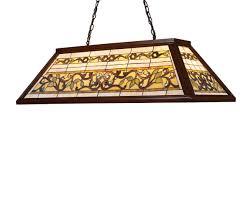 Landmark Lighting 7002 4 Light Tiffany Billiard Large Pendant