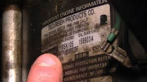 How To Identify Model & Serial Numbers On Snowblower Engines - YouTube