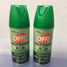 deet travel size 2 deep woods off insect repellent dry 2 5 oz ea travel size 25